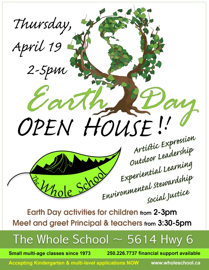 Earth Day Open House 2018
